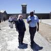 A Robben Island prisoner visits Kilmainham Gaol to commemorate Mandela
