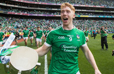 Another long Limerick wait ends as Cian Lynch is named 2018 Hurler of the Year