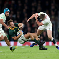 Farrell's boot and shoulder in the spotlight as England edge South Africa