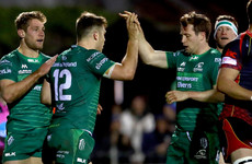 Bonus point in the bag by half-time as Connacht  torch Dragons
