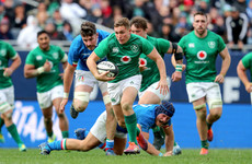 Superb Larmour hat-trick helps Schmidt's Ireland to big win over Italy