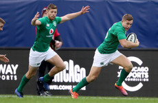 Watch: Jordan Larmour caps first international start with delicious last-minute try