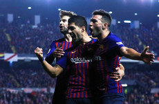 Barcelona strike twice in three minutes to snatch victory at Rayo Vallecano