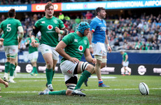 Ireland's win in Chicago allows players to put hands up for Argentina Test