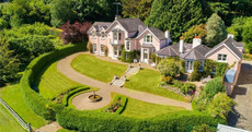 Explore this pretty-in-pink mansion minutes from Dublin - yours for €3.85m