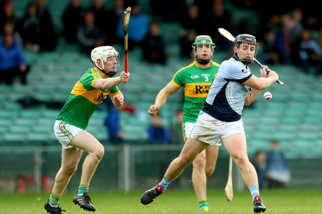 Peter Casey bagged Na Piarsaigh's third goal.