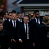 Leicester City players arrive in Bangkok to pay final respects to club chairman