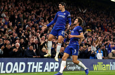 Morata double ensures Chelsea continue strong form with win over Palace