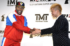 Floyd Mayweather to fight 20-year-old Japanese kickboxer on New Year's Eve