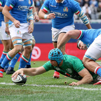 Beirne's big outing in Chicago leaves Ireland spoiled in second row