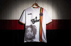 Bohs forced to redesign Bob Marley away jersey over image rights issue