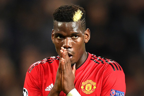 During his initial spell, Paul Pogba is said to have decided to leave Old Trafford after a game against Blackburn in which Phil Jones and Park Ji-Sung started in central midfield.