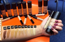 Some people aren't happy with the shade range of Inglot's latest foundation