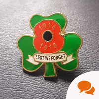As we approach the centenary of Armistice Day, here's why I'm asking Irish politicians to wear a Shamrock Poppy