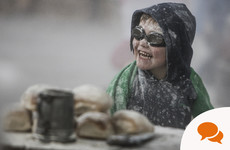 Ireland in a Snapshot: Blaamageddon - what happened when I went to a Waterford flour fight