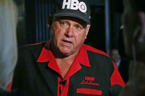 Hof was known from HBO series Cathouse.