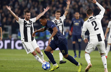 As it happened: Juventus v Man United, Champions League