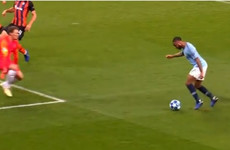 Man City awarded laughable penalty after Sterling loses balance in a yard of space