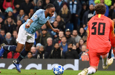 Guardiola defends Sterling for not pointing out referee error after trip