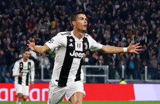 Ronaldo reckons 'dominant' Juventus gifted Manchester United a win