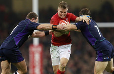 Anscombe retains his place ahead of Biggar for Wales' clash with Australia