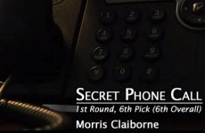 AUDIO: An NFL draft prospect breaks down crying when the Cowboys call him to say he's been drafted