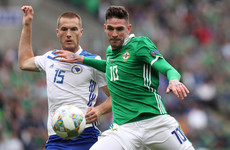 'It's good to have him back' - Apologetic Kyle Lafferty returns to Northern Ireland squad for Dublin friendy