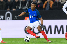After missing France's World Cup triumph, in-form Martial brought back in from the cold