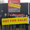 'It's time to send a strong message': 24-hour protest calling for Nama site to be used for social housing