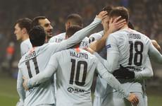 Giroud ends 794-minute Chelsea goal drought as Blues progress to Europa League last 32