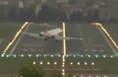 VIDEO: Scary Plane Landing of the Day