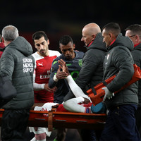 Arsenal held by Sporting in Europe but progress as Welbeck suffers serious-looking injury