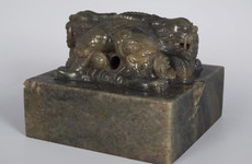 This antique Chinese seal sold for €280,000 in Laois - five times the estimate