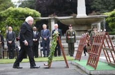 Irish leaders mark Armistice Day at events in Ireland, Britain and France