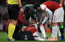 Cruel blow for Welbeck as Arsenal forward suffers 'significant' ankle damage