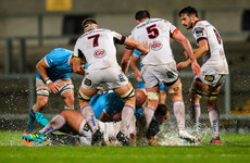 McBurney and maul powers Ulster to rain-sodden win over Uruguay