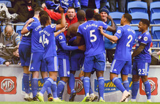 Dramatic scenes in Cardiff as Bamba snatches 90th-minute winner to punish 10-man Brighton