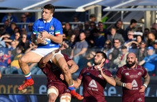Italy silence cull call with four-try win over Georgia
