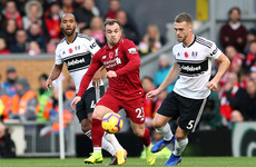 As it happened: Liverpool vs Fulham, Premier League