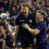 Tommy Seymour bags hat-trick as Scotland run in eight tries against Fiji