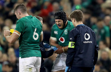 'He's gutted' - O'Brien breaks his arm during Ireland's win over Argentina