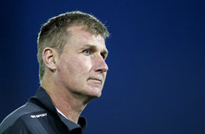 Dundalk manager Stephen Kenny uses PFAI awards speech to highlight homelessness