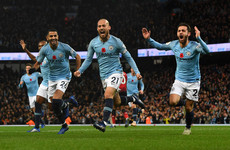 Stunning 44-pass move sees City seal victory over United in Manchester derby