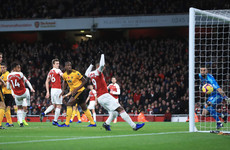 Mkhitaryan's late fluke breaks Wolves hearts