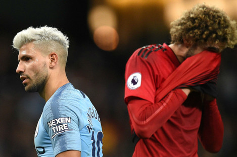 City outclassed United amid a 3-1 win on Sunday.