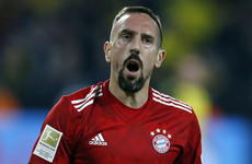 Ribery reportedly slapped a TV pundit after Bayern Munich's defeat to Dortmund