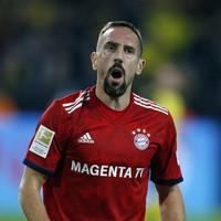Ribery reportedly slapped a TV pundit after Bayern Munich's defeat to Dortmund
