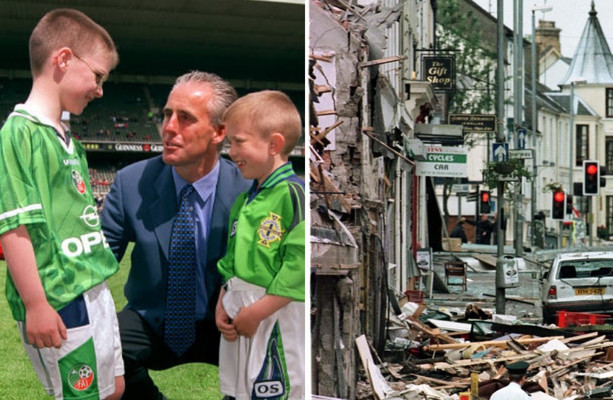 Omagh bombing, a united cause and Griffin's 30 yard strike: when Northern Ireland came to Dublin in 1999 and won