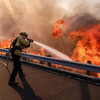 'Mass casualty' teams search ruins as death toll from California blaze reaches 42