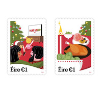 Toy Show, turkey and Santa Claus: This year's Christmas stamps have been unveiled